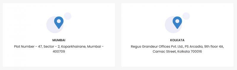 Ebullientech Locations | Mumbai & Kolkata